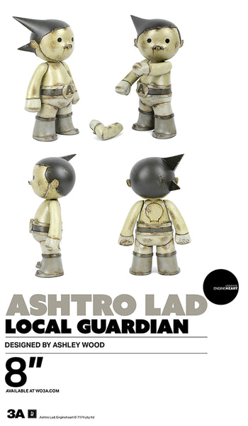 Ashtro Lad Local Guardian 8-inch vinyl figure by 3A PREORDER 3A 3A Tenacious Toys®