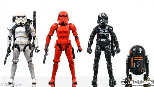 Star Wars The Force Awakens Imperial Forces Black Series Action Figures 4Pack - Entertainment Earth Exclusive Assortment - Tenacious Toys® - 1