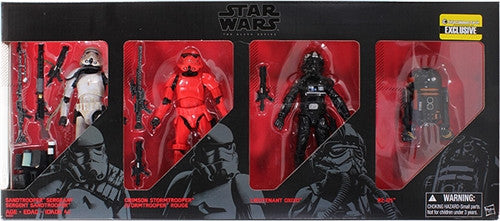 Star Wars The Force Awakens Imperial Forces Black Series Action Figures 4Pack - Entertainment Earth Exclusive Assortment - Tenacious Toys® - 2