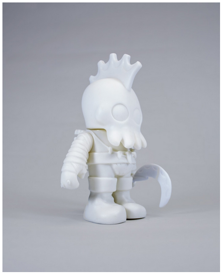 Brighton the Bareknuckle DIY vinyl toy by World of Rivals - Tenacious Toys® - 1