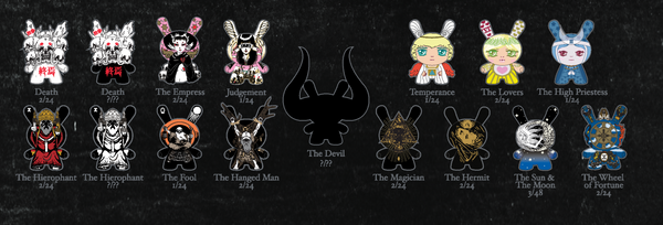 Kidrobot Arcane Divination 3-inch Dunny Series Case of 24 - Tenacious Toys® - 2