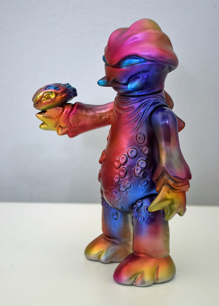 NYCC Exclusive Dragonfire Bangagon sofubi vinyl figure by GUUMON Tenacious Toys® Custom Tenacious Toys®