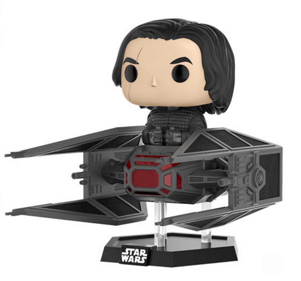 Funko POP Deluxe: Star Wars The Last Jedi Kylo in TIE Fighter