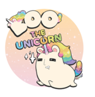 Boonicorn & Friends Boo the Unicorn 10-inch Plush by JCORP JCorp Plush Tenacious Toys®