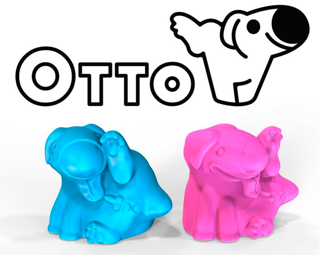 OTTO 5-inch Resin Figure by Brutherford Industries x Kean University Brutherford Industries Resin Tenacious Toys®