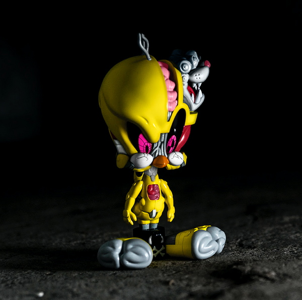 Get Animated Tweety 9-inch vinyl figure by Pat Lee x Soap Studio PREORDER ToyQube Vinyl Art Toy Tenacious Toys®