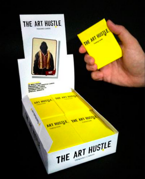The Art Hustle Series 3 Trading Cards Wax Pack Sidekick Labs Trading Cards Tenacious Toys®