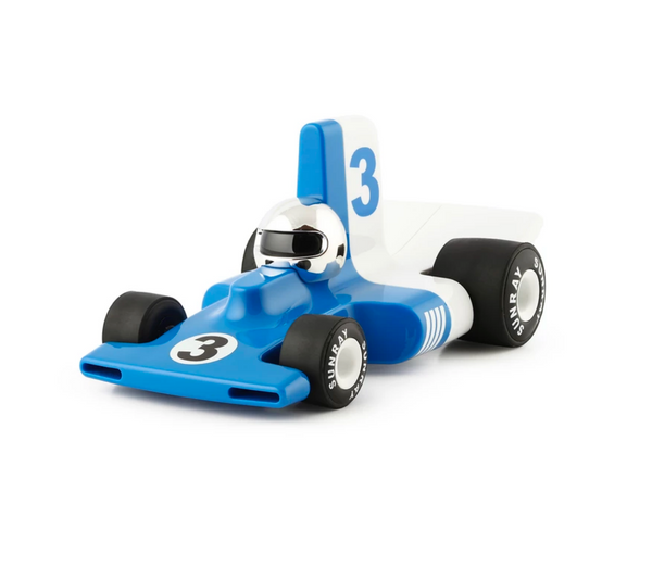 Playforever Verve Velocita Racing Car Blue Lorenzo Edition