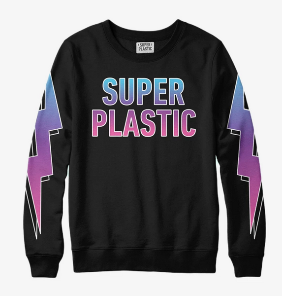 Superplastic Gothic Rainbow Sweatshirt - Unisex