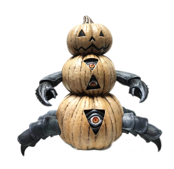 Jim McKenzie Beneath The Harvest Pumpkin Crab Mono edition 10-inch vinyl figure by ToyQube