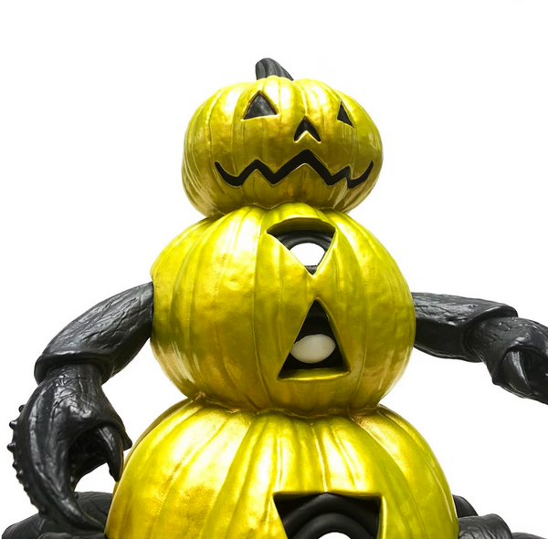 Jim McKenzie Beneath The Harvest Pumpkin Crab Midnight edition 10-inch vinyl figure by ToyQube ToyQube Vinyl Art Toy Tenacious Toys®