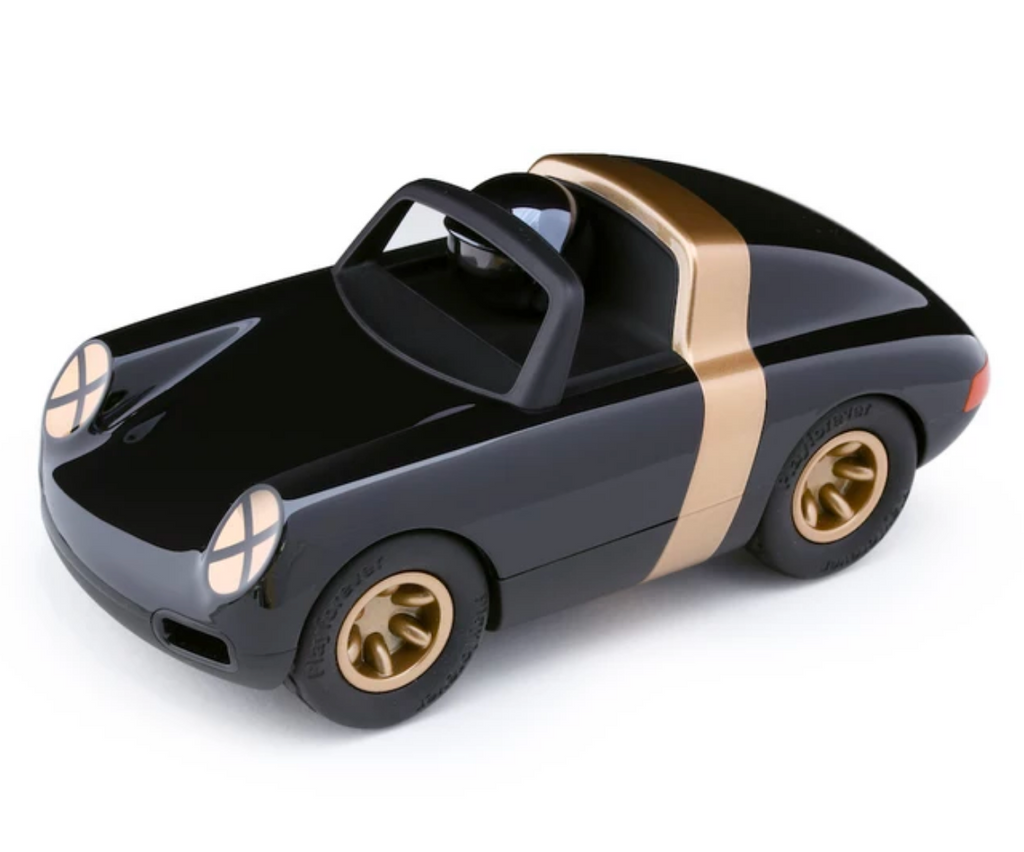Playforever LUFT Crow Black & Gold collectible toy car