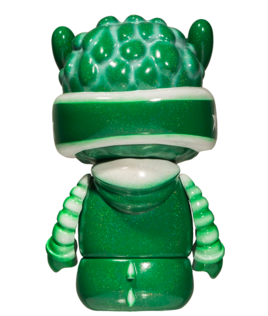 Quiccs MerTEQ Liat Orchard Green Edition 6-inch vinyl art toy by Mighty Jaxx PREORDER ships April MightyJaxx Vinyl Art Toy Tenacious Toys®