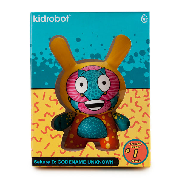"Kidrobot Codename Unknown 5"" Dunny by Sekure D - Tenacious Toys® - 5"