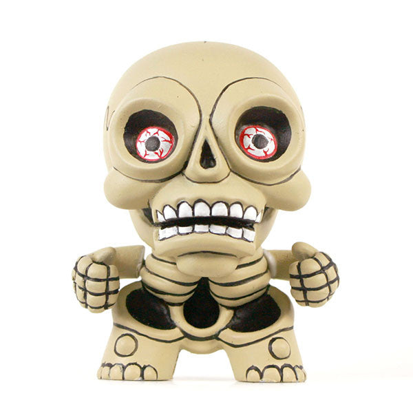Hugh Rose The Damned Skellington Custom Dunny - Tenacious Toys® - 1