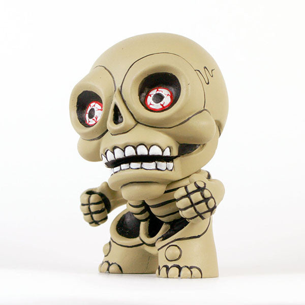 Hugh Rose The Damned Skellington Custom Dunny - Tenacious Toys® - 2