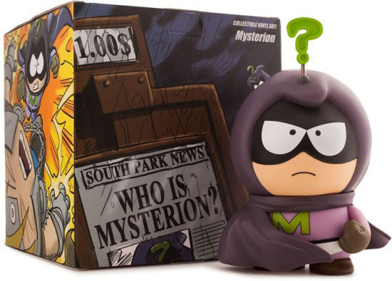 South Park The Fractured But Whole Mysterion medium vinyl 7-inch figure by Kidrobot - Tenacious Toys® - 2