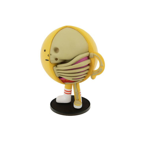 XXRAY Sticky Monster Lab Yellowmon 4-inch PVC figure by Mighty Jaxx & Jason Freeny