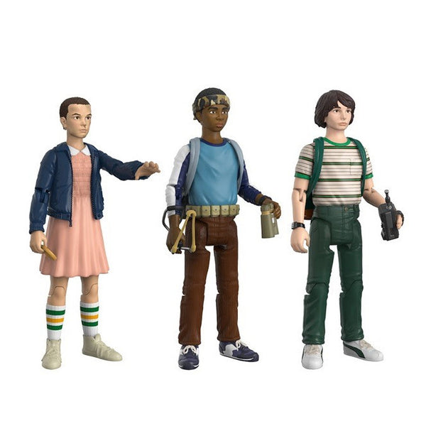 Stranger Things Action Figure 3-Pack Set 1: Lucas, Mike and Eleven PREORDER