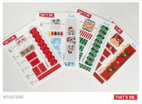 Holiday Phone Charger Block Sticker Set by Thats My Electronics vendor-unknown Tenacious Toys®