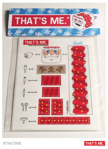 Holiday Phone Charger Block Sticker Set by Thats My Electronics - Tenacious Toys® - 3