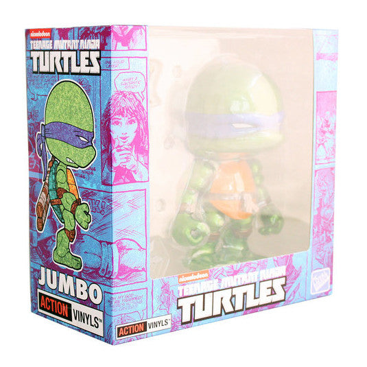The Loyal Subjects TMNT Leo 8-inch Metallic Edition Action Vinyl Figure - Tenacious Toys® - 2