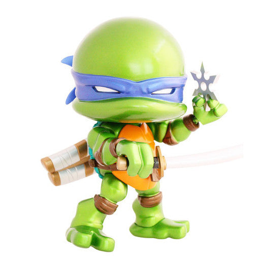 The Loyal Subjects TMNT Leo 8-inch Metallic Edition Action Vinyl Figure - Tenacious Toys® - 1