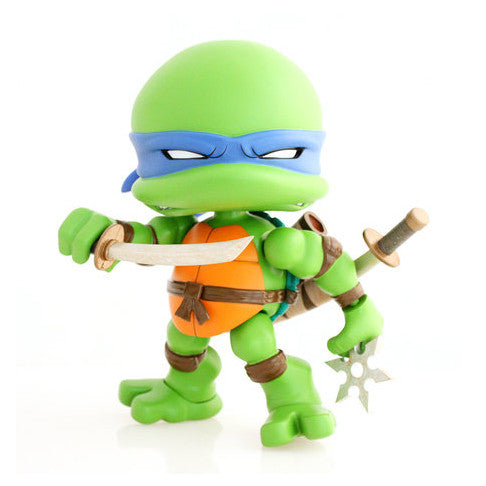 The Loyal Subjects TMNT Leo 8-inch Regular Edition Action Vinyl Figure - Tenacious Toys® - 1