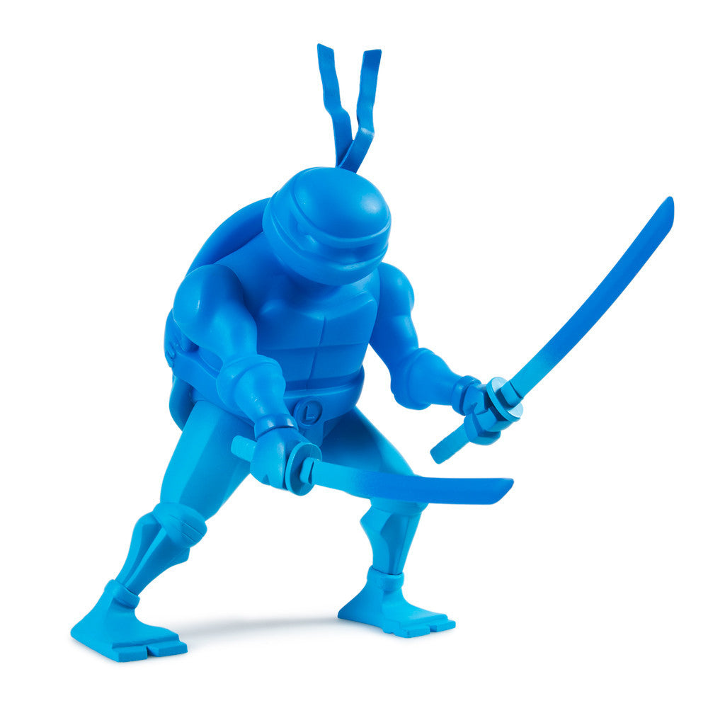 TMNT Leonardo medium vinyl 8-inch Teenage Mutant Ninja Turtles figure by Kidrobot - Tenacious Toys® - 1
