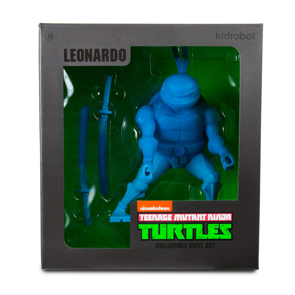 TMNT Leonardo medium vinyl 8-inch Teenage Mutant Ninja Turtles figure by Kidrobot - Tenacious Toys® - 4