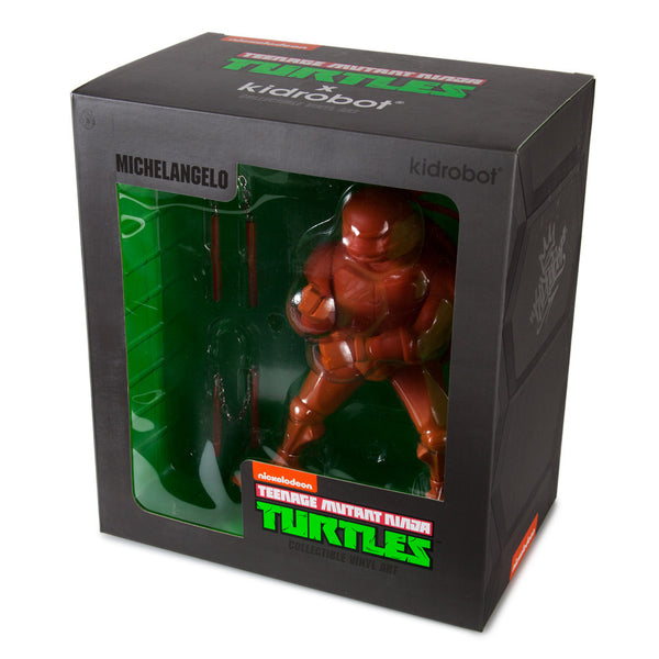 TMNT Michelangelo medium vinyl 8-inch Teenage Mutant Ninja Turtles figure by Kidrobot - Tenacious Toys® - 5