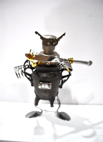 Small Key Eyes robot by JT Smalley vendor-unknown Custom Tenacious Toys®