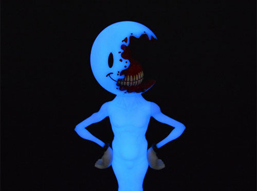 Half A Nice Day Blue Edition 10-inch vinyl figure by Alex Pardee PREORDER ToyQube Vinyl Art Toy Tenacious Toys®