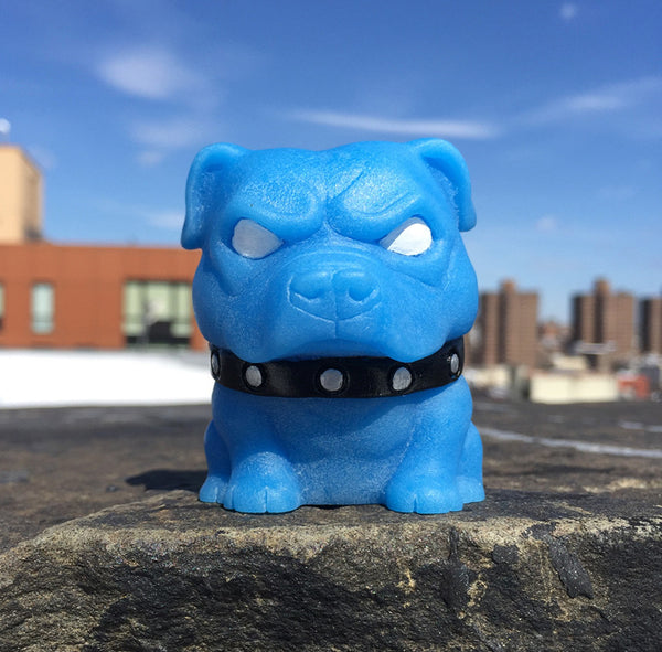 Danger Tenacious Toys Exclusive Mascot Pitbull Blue 2.5-inch resin figure