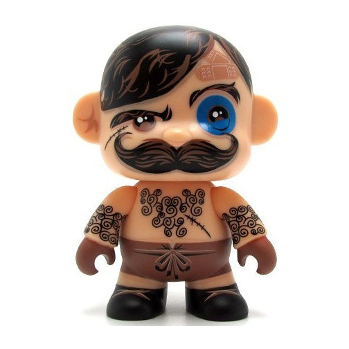 Pocketwookie 5-inch Mini Qee Tobacco Pete vinyl figure by Toy2R