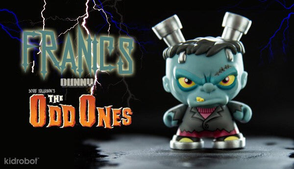 Kidrobot The Odd Ones Dunny Mini Series by Scott Tolleson SEALED CASE PLUS CASE EXCLUSIVE - Tenacious Toys® - 8