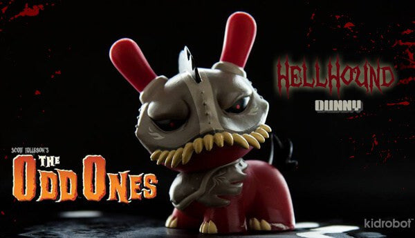 Kidrobot The Odd Ones Dunny Mini Series by Scott Tolleson SEALED CASE PLUS CASE EXCLUSIVE - Tenacious Toys® - 3