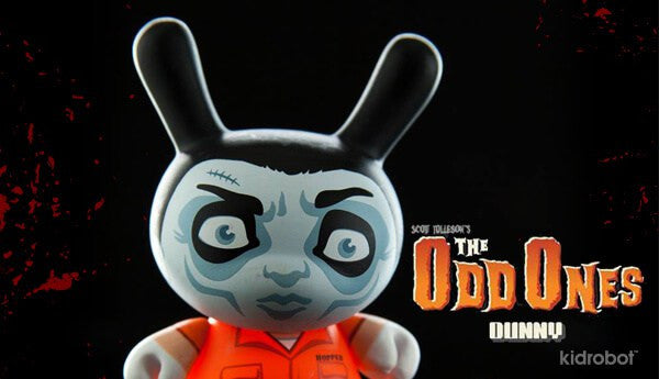Kidrobot The Odd Ones Dunny Mini Series by Scott Tolleson SEALED CASE PLUS CASE EXCLUSIVE - Tenacious Toys® - 2