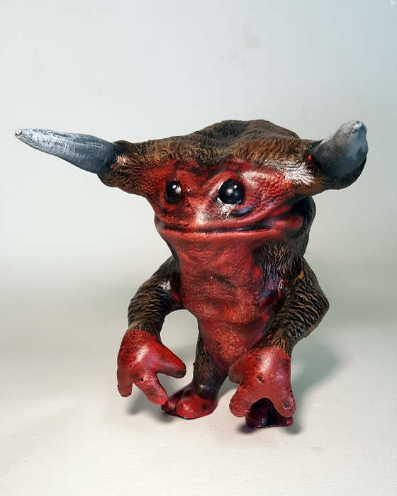 Fey Folk The Imp 3.5-inch resin figure by Weston Brownlee Weston Brownlee Resin Tenacious Toys®