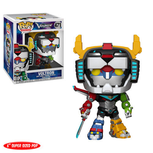 Funko POP Animation 6-inch Supersized Voltron figure PREORDER Funko Funko Tenacious Toys®