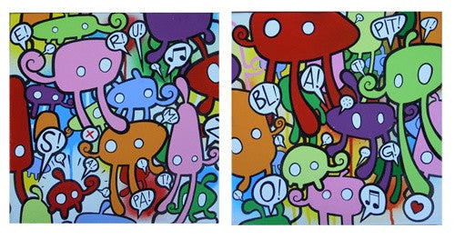 Original Paintings by Willow - Tenacious Toys®