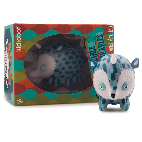 Kidrobot Horrible Adorables Pufferhedge 4in vinyl figure - Tenacious Toys® - 5