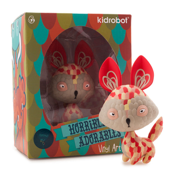 Kidrobot Horrible Adorables Haremus 4in vinyl figure - Tenacious Toys® - 5