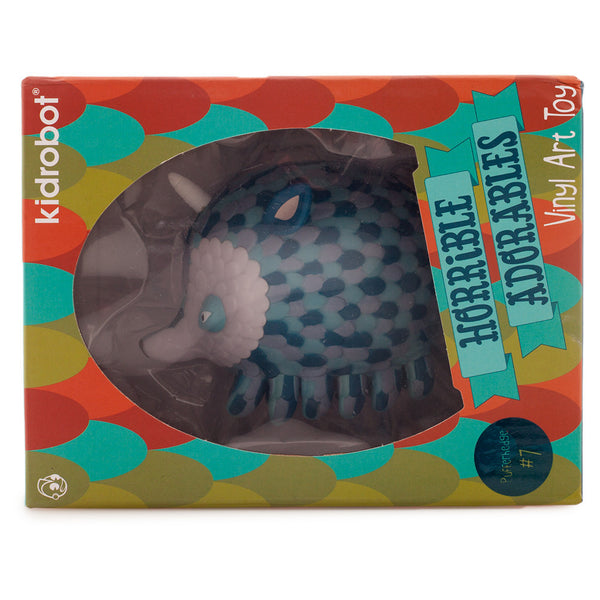 Kidrobot Horrible Adorables Pufferhedge 4in vinyl figure - Tenacious Toys® - 4