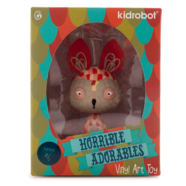 Kidrobot Horrible Adorables Haremus 4in vinyl figure - Tenacious Toys® - 4