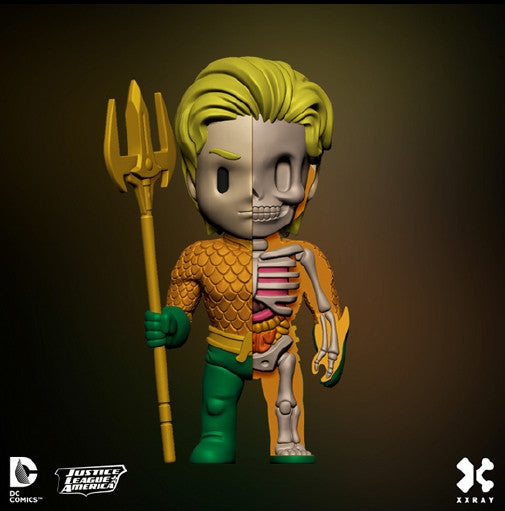 XXRAY Wave 2 Aquaman Anatomy 4-inch figure by MightyJaxx and Jason Freeny - Tenacious Toys® - 1
