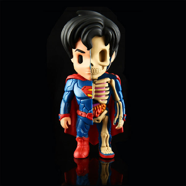 XXRAY Superman by Jason Freeny & MightyJaxx (Wave 1) MightyJaxx Tenacious Toys®