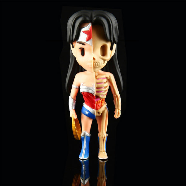 XXRAY Wonder Woman by Jason Freeny & MightyJaxx (Wave 1) MightyJaxx Vinyl Art Toy Tenacious Toys®