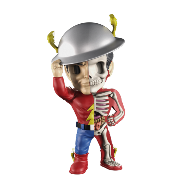 XXRAY Golden Age The Flash 4-inch PVC figure by Mighty Jaxx