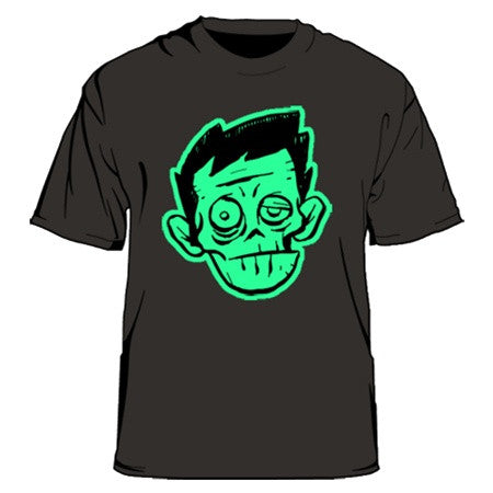 Zombie Chuck black t-shirt Men's Small - Tenacious Toys®